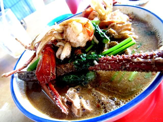 Glory Cafe prawn noodles