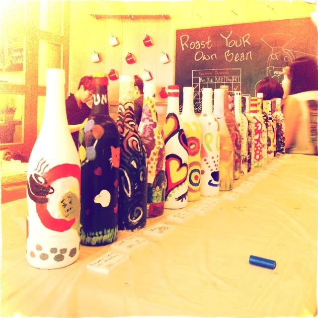 Bottlemania! #pacificcoffee #pacificcoffeeemporium