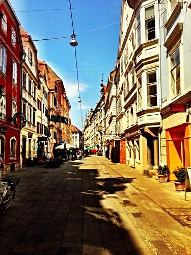 Graz on a sunny summer Sunday by SpatzMe