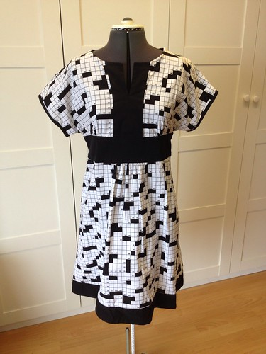 crossword dress #2