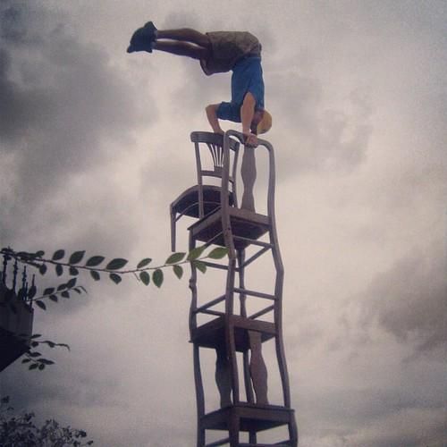 Stunts at Epcot by @MySoDotCom