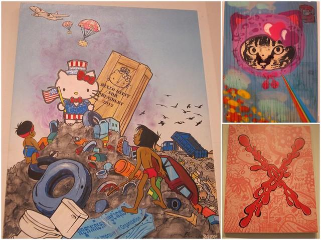 Sever - Cat Cult - Mark Mulroney - Hello Kitty Artwork