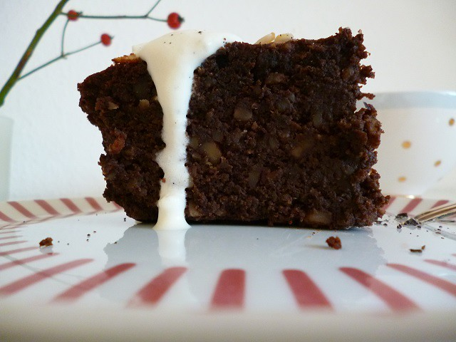 -Würziger Schokoladenkuchen-