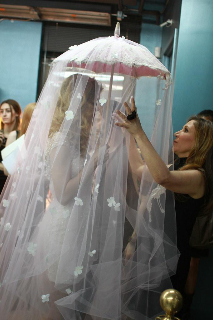 Reem Acra Spring 2014 Bridal- Backstage - 025