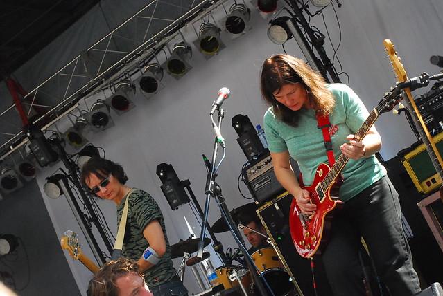 hopscotch music festival: the breeders sound check