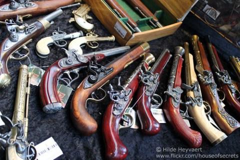 flintlock pistols