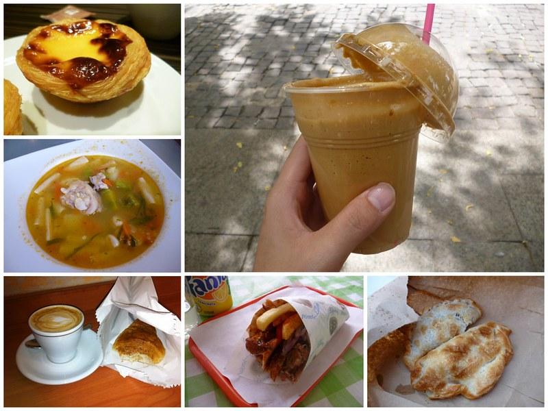 Glutton eats around the world