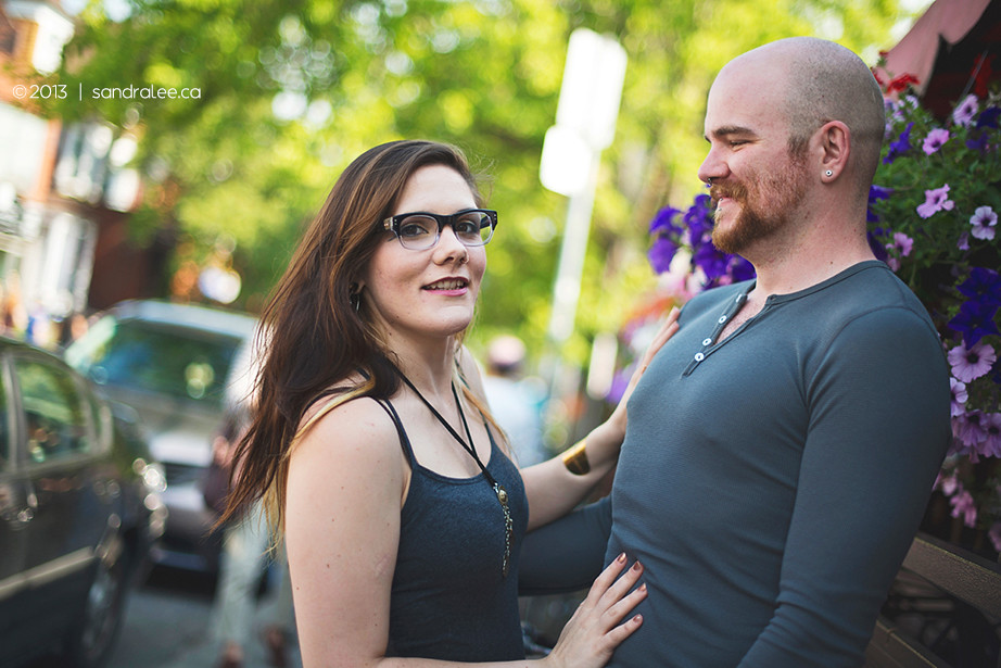 Heather + Jason | Kensington Market Toronto Engagement