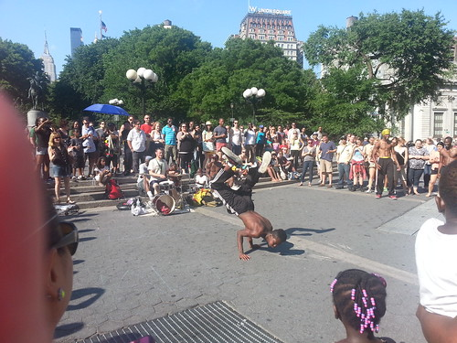 Dancing at Union Square