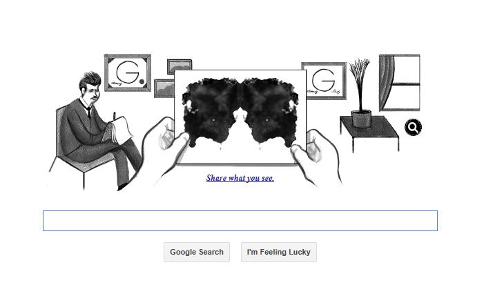 Hermann Rorschach Google Birthday
