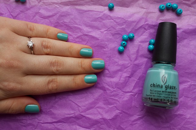 08 China Glaze For Audrey swatches