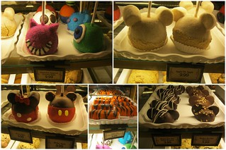 Mickey Mouse type treats by the Winnie of Pooh ride