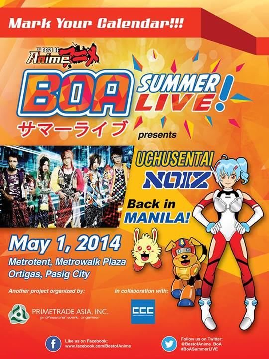 BOA Summer Live 2014