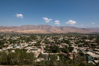 En we hadden ook nog een mooi uitzicht over de stad zelf,