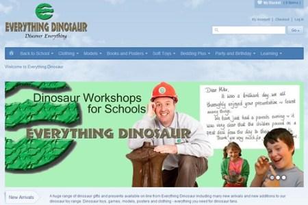Everything Dinosaur