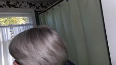 hair no shampoo day 2