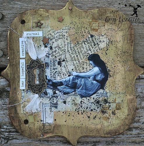 art journal woman2
