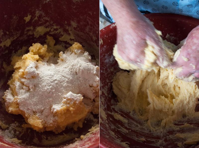 massa para bolo de milho do pico