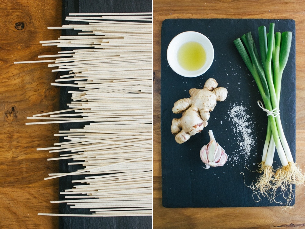 Ginger Poached Chicken with Tangy Soba Noodle Salad   Simple Provisions