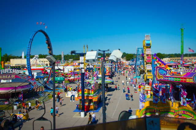 State Fair Tilt Shift