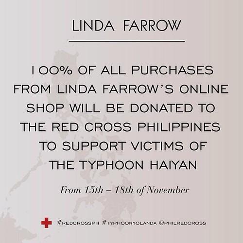 Linda Farrow sale