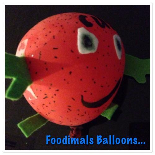 Foodimals Balloons...