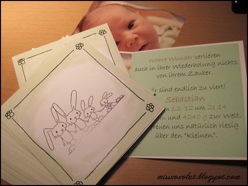 Geburtskarten
