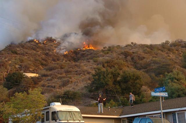 Colby Fire (Glendora) 1/17/14