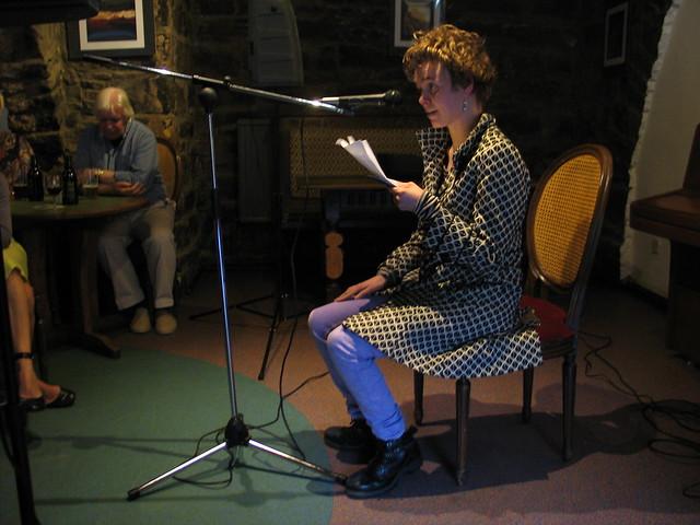 Nuala Watt at Shore Poets June 2013