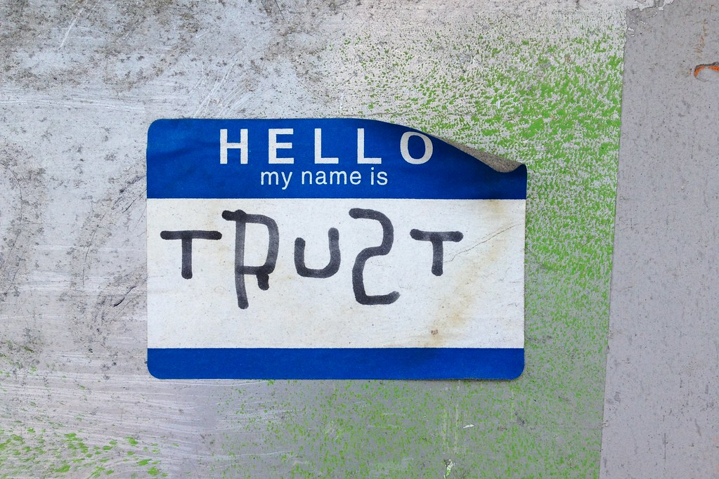 Hello, my name is Trust