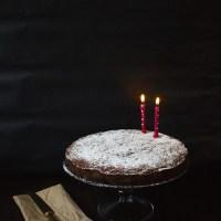 Pear, Chocolate and Pistachio Cake