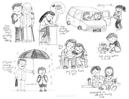 Sneak peek: illustration for Muni x Moonleaf's annual planner