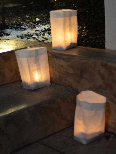 Luminaria Steps