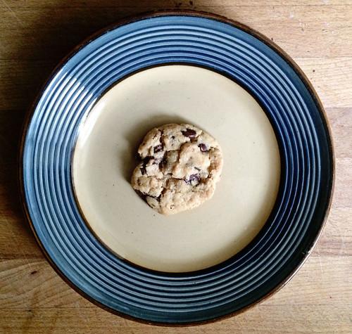 Brown butter + sea salt cookies
