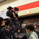 crowded subway station - new year's eve 03
