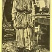 """Phillip Medhurst presents 410/740 James Tissot Bible c 1900 Saint Joseph from """"La Vie de Notre Seigneur Jésus Christ"""
