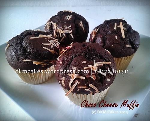 DKM Cakes telp 08170801311, toko kue online jember, muffin coklat keju jember
