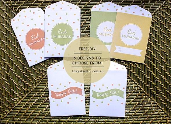 Free Bonus Printable Eid Money Packets Envelopes In My Studio In My Studio