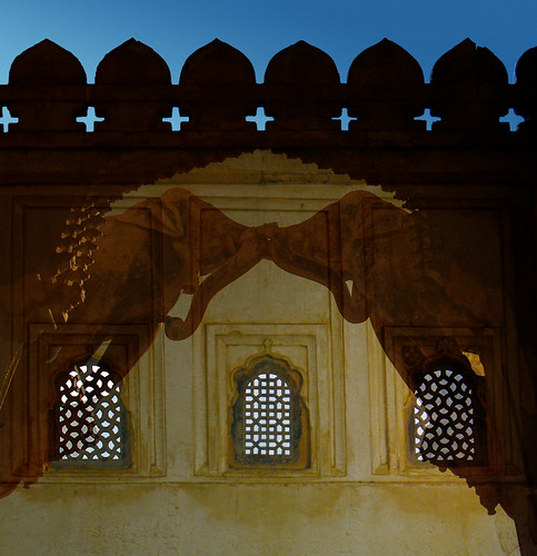 Bundi Fort with elephant arch