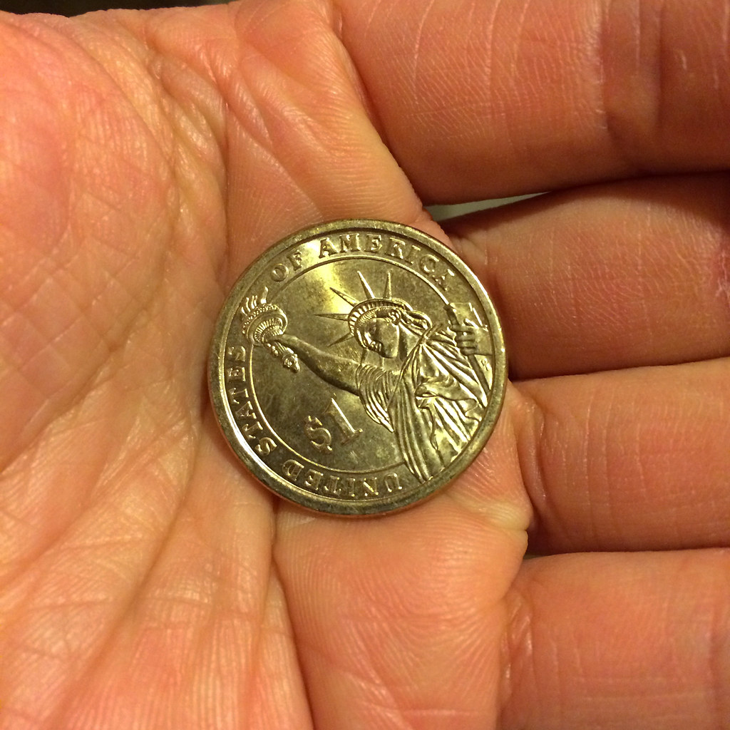 One-dollar coin