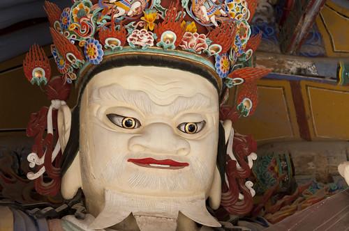 Temple de Tongdosa: les rois célestes