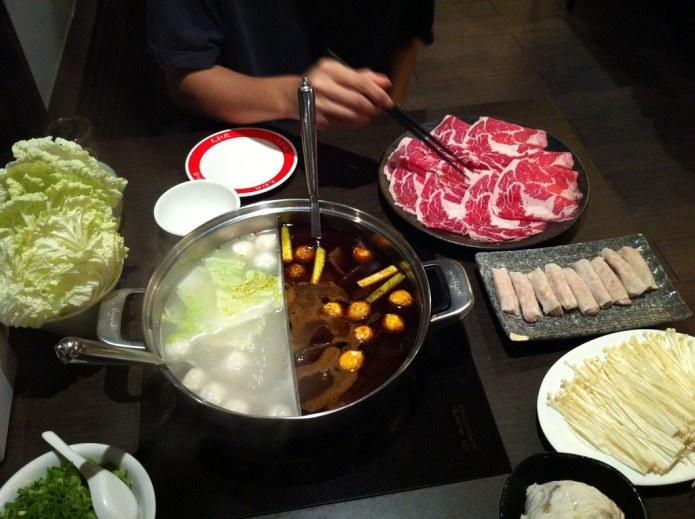 hotpot dinner 1