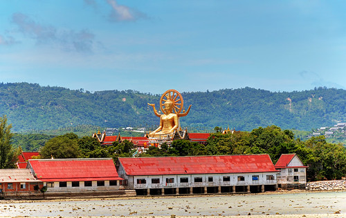 Big Buddha seen from a distance