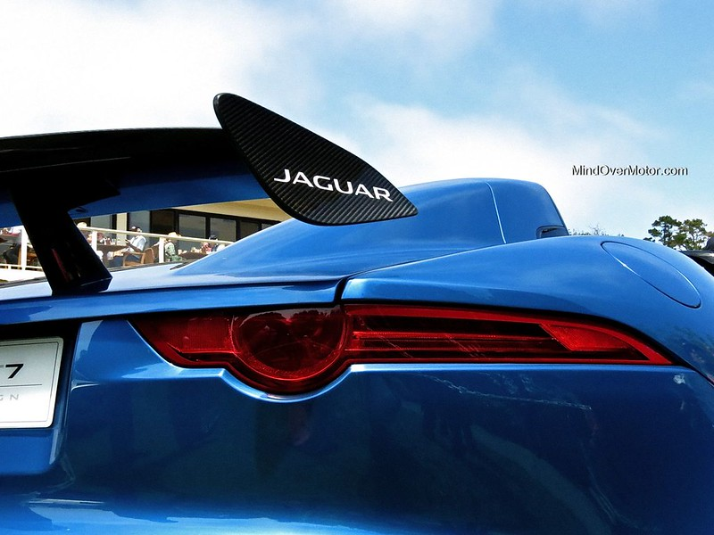 Jaguar Project 7 at Pebble Beach