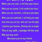 My oath to you - Jerry   www.facebook.com/MrPositiveJerryCriss #jerrycriss  #success #positive #quote #happy #choice #kindness #love #wednesday #winning #dreams #perseverance #smile #goals #worthy #friend #attitude #abundance #grateful #jerrycriss #mrposi.