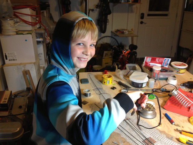 Soldering is child's play