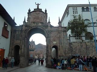 Cusco - Puerta de Santa Clara
