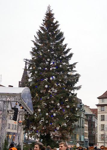 Weihnachtsbaum Straßburg