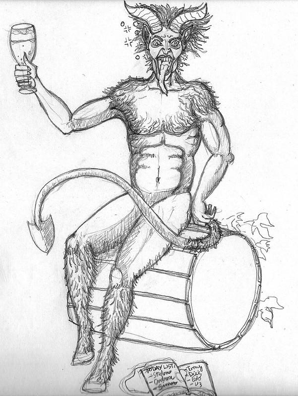 Krampus sketch