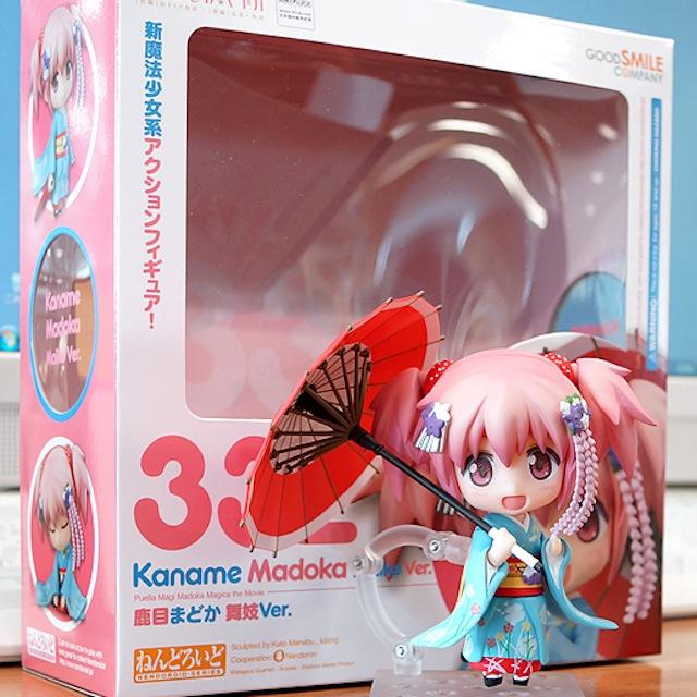 Nendoroid Kaname Madoka: Maiko version